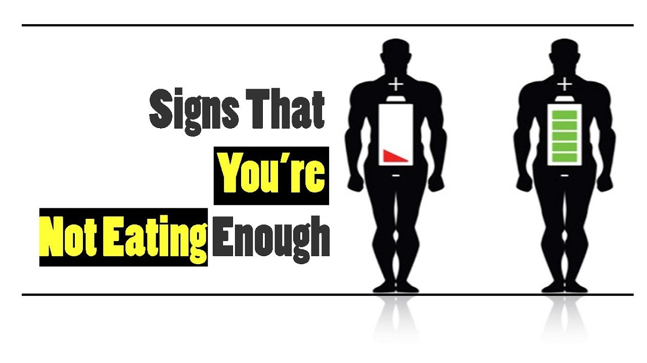 7 Signs That You're Not Eating Enough