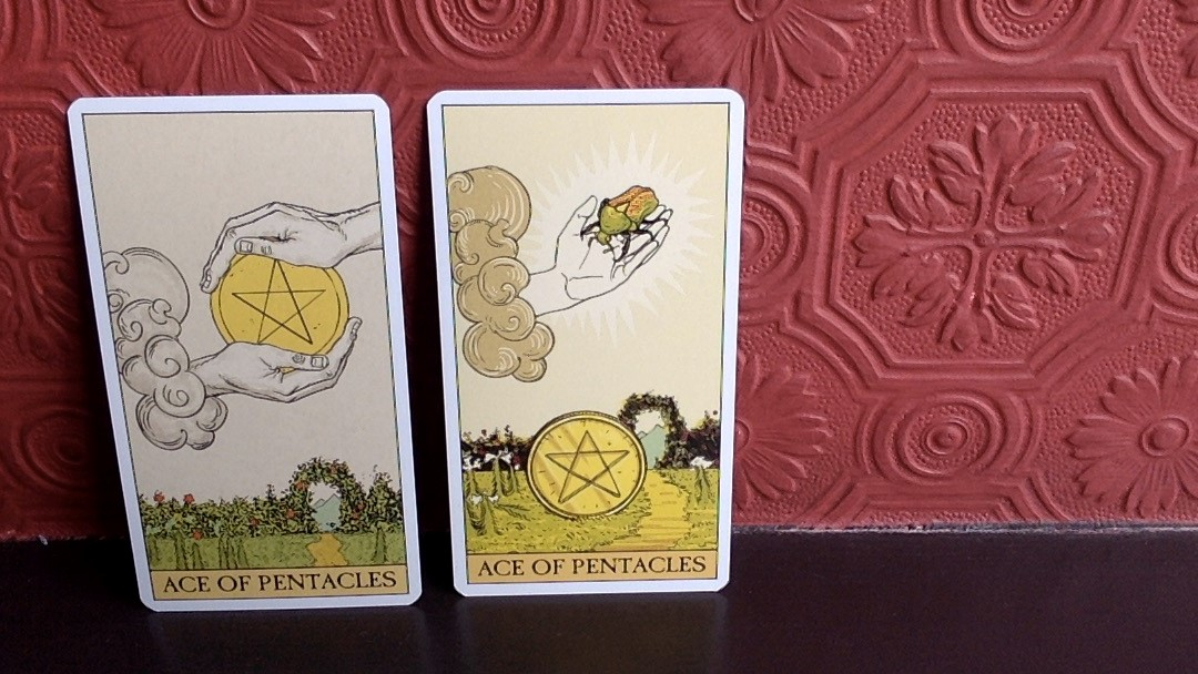 Ace of Pentacles and Your Large Sums of Money